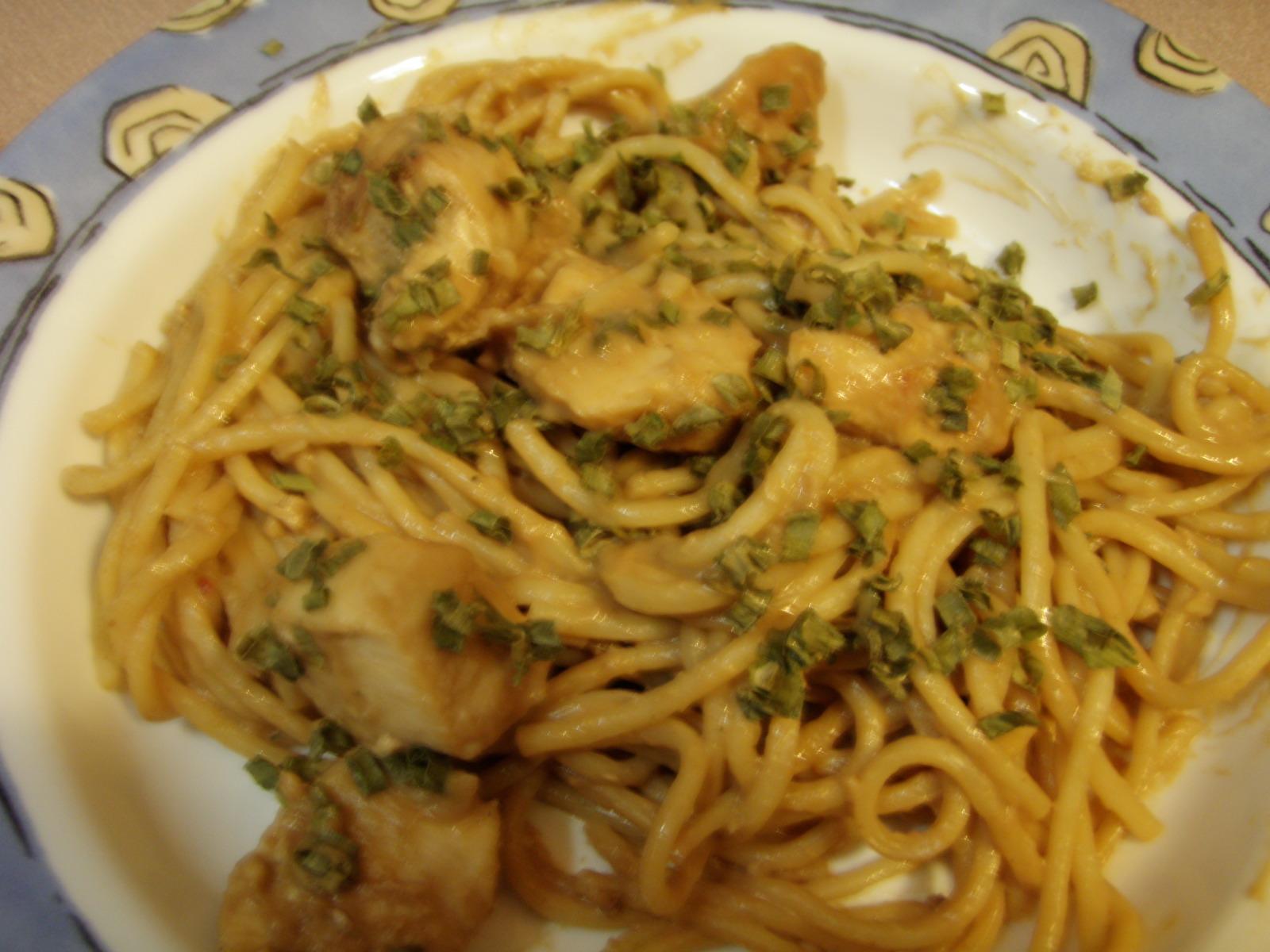 Peanut Butter Noodles | Taste and See!