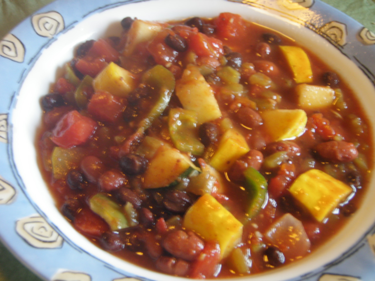 Quick Vegetarian Chili | Taste and See!